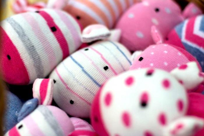 calzini giocattoli
