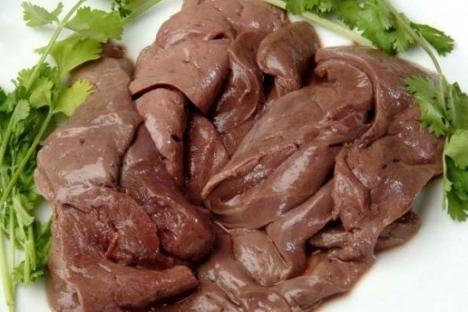 пълнене на палачинки от черния дроб