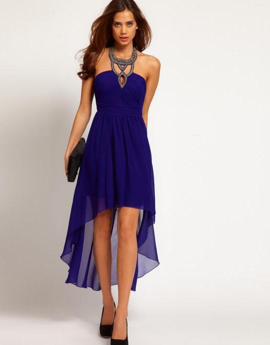 летње хаљине натраг дуги фронт кратки