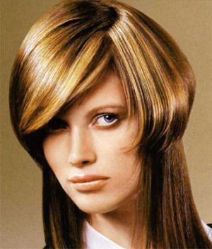 подстригване за шапка със средна коса