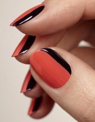 prosty manicure