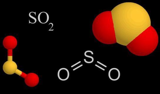 формула сумпор диоксида