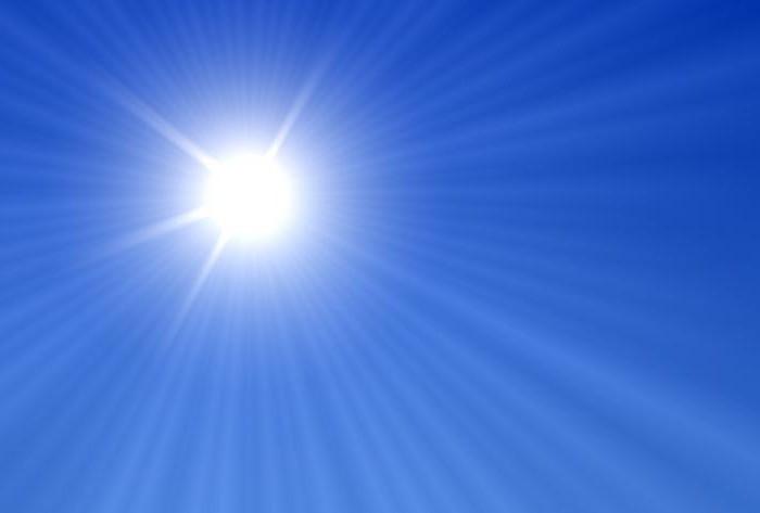 luce solare diretta