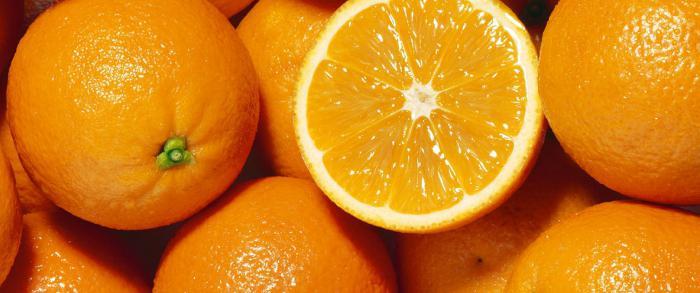 quante calorie in arancio