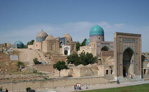 Uzbekistan, gradovi, popis