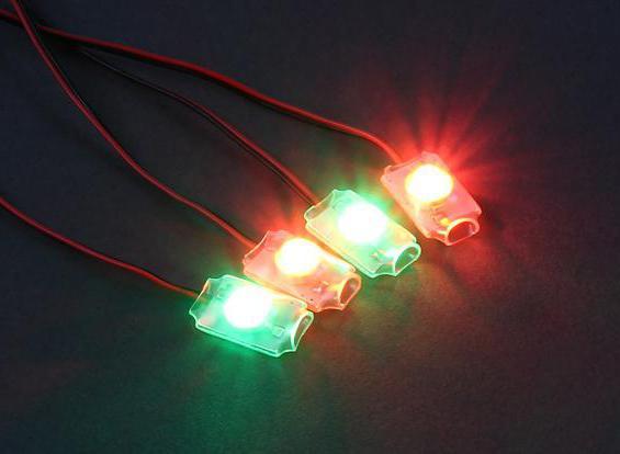 супер ярки LED характеристики