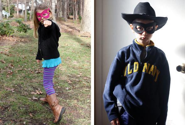 kako narediti kostum superheroja