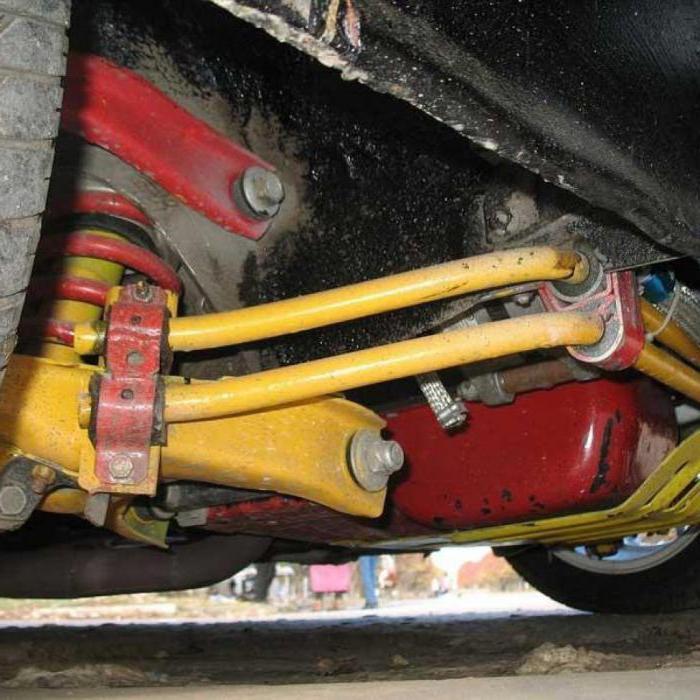 ремонт на окачването ВАЗ-2107