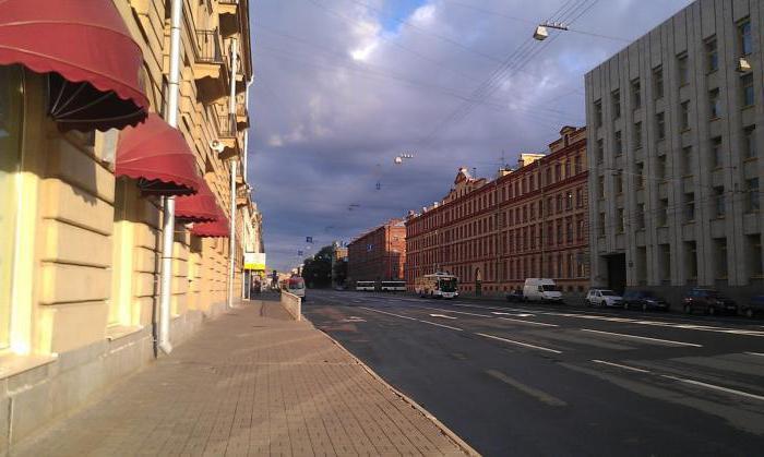 Pietroburgo Suvorovsky prospettiva