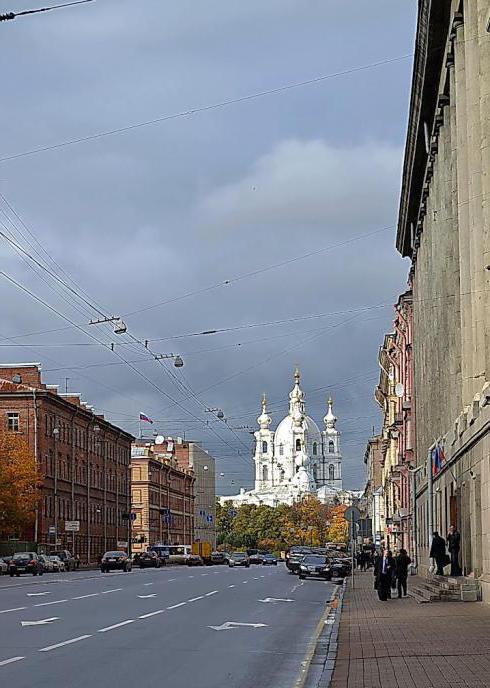San Pietroburgo Suvorovsky Avenue