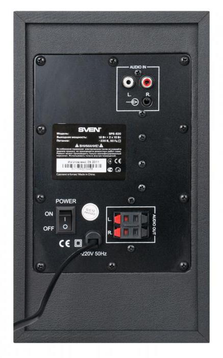 amplificatore sven sps 820
