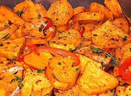 słodki przepis na ziemniaki