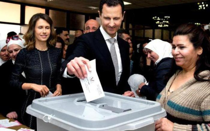 Ex presidente siriano