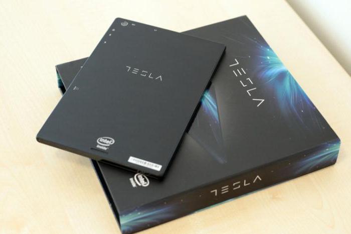 Tesla Neon Tablet