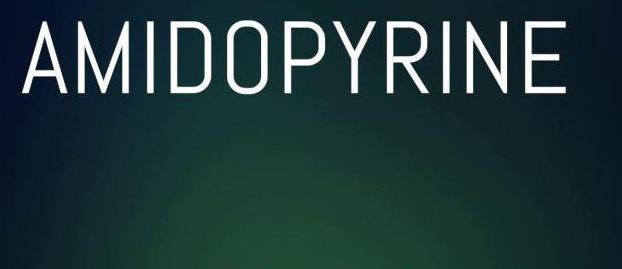 istruzioni per l'applicazione di amidopirina