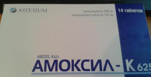 Istruzioni di targhe Amoxil