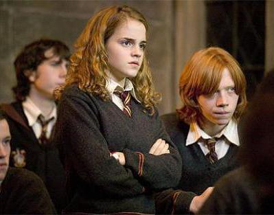 Harry Potter e il calice degli attori del film di fuoco