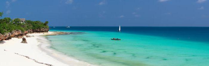Остров Занзибар, където се намира