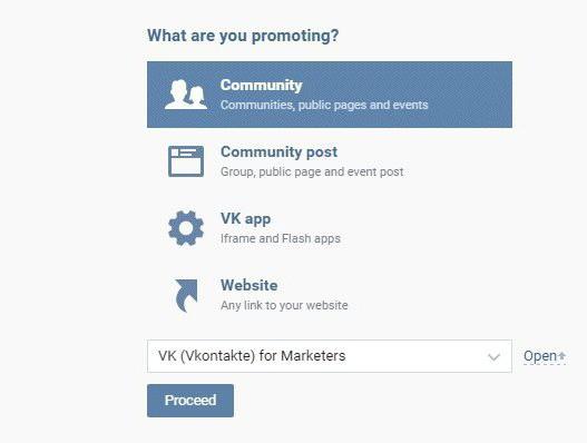 učinkovito ciljno oglaševanje vkontakte