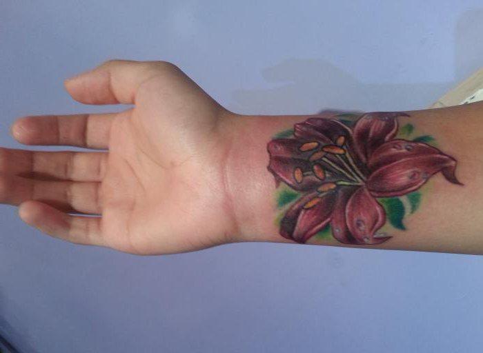 тетоваже за девојке цвеће