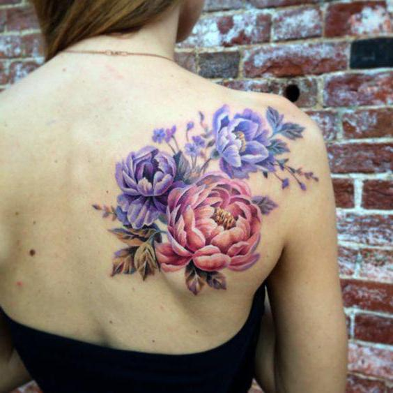 Tatuaż Piwonia Opis Wartości Cechy