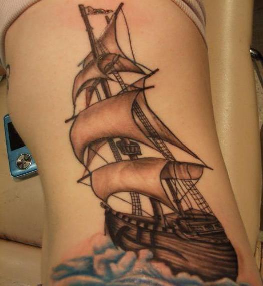 nave del tatuaggio
