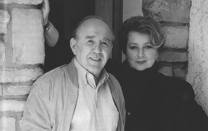 Татјана Тарасова са мужем