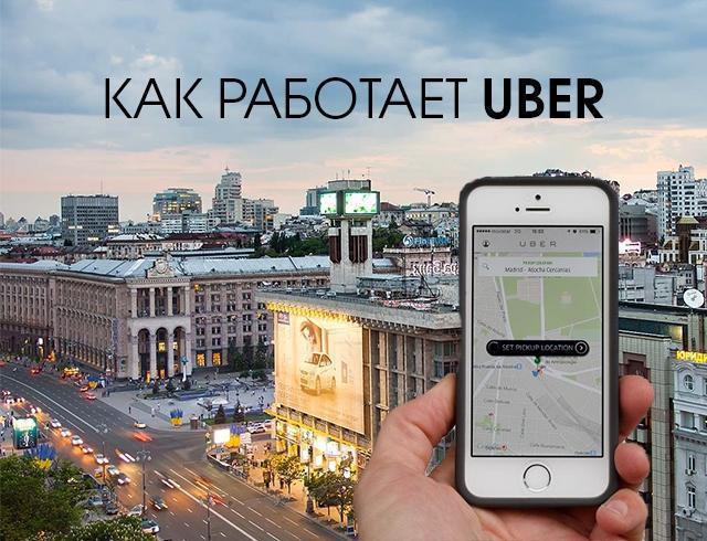 Uber taksi red