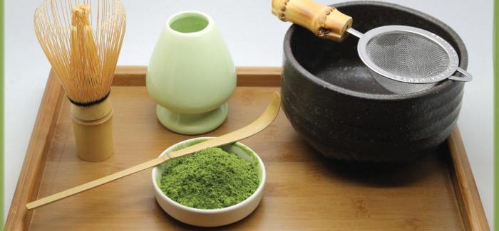 Cerimonia del tè in foto in Giappone