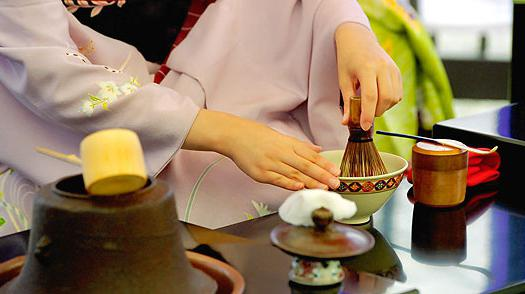 L'arte della cerimonia del tè in Giappone