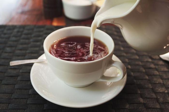 použijte mléčný čaj