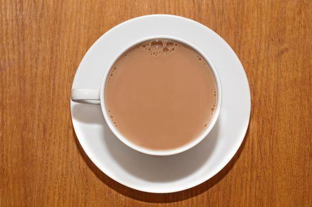 mléčný čaj prospěch a poškození