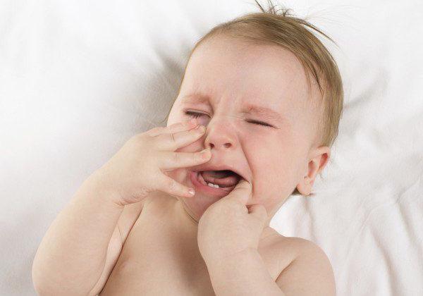 шема зуба код деце