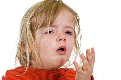 febbre e naso che cola in un bambino