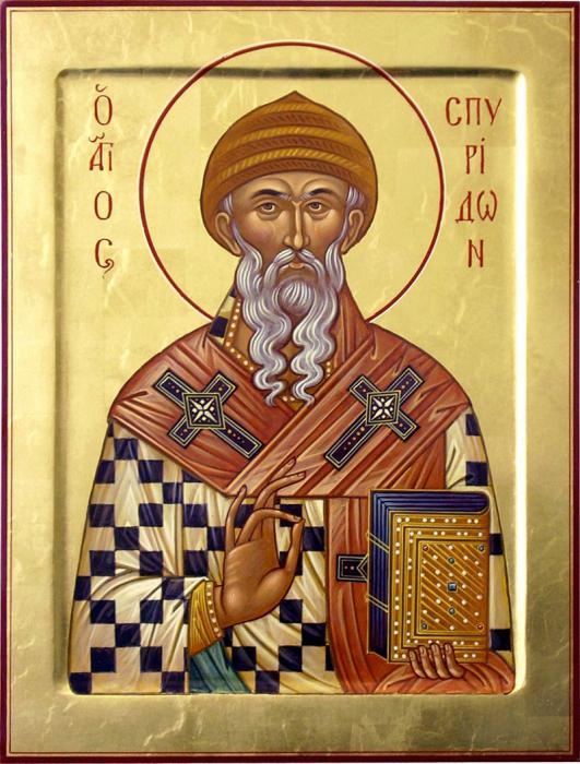 Икона на Св. Спиридон
