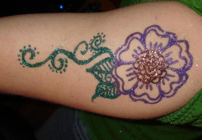 Dočasné tetování za měsíc