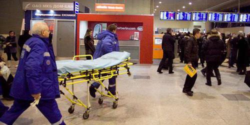 attacco terroristico a Domodedovo