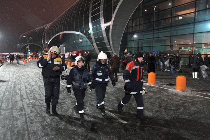 quale anno è stato l'attacco terroristico a Domodedovo