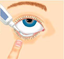 kako primijeniti mast za oči