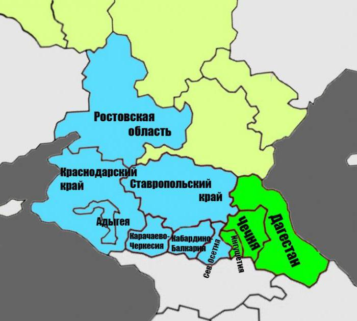 Regione del Caucaso settentrionale