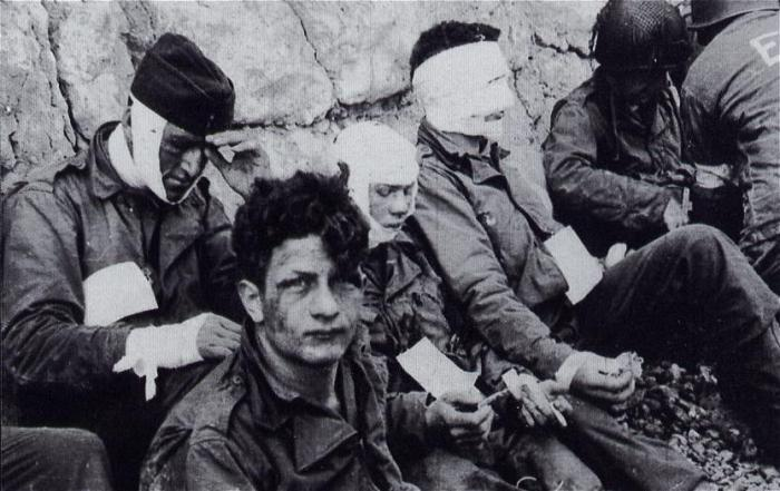 Lo sbarco delle truppe americane in Normandia