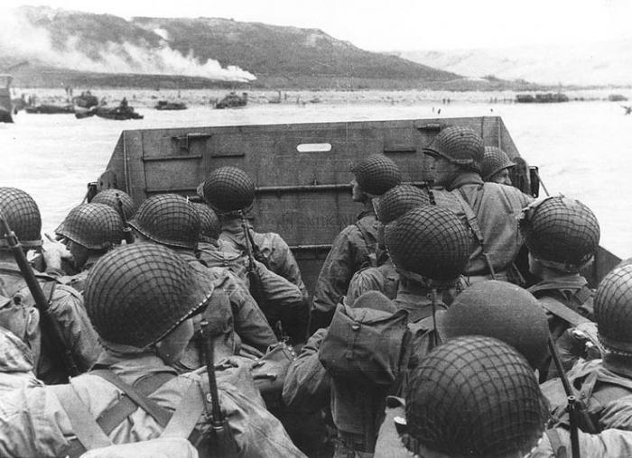 Atterraggio in data di Normandia