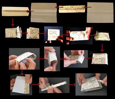 czołg origami