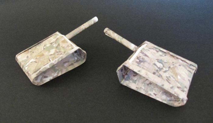 system czołgów origami