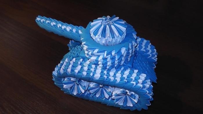 modułowy czołg origami