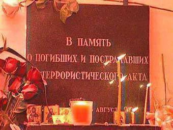 ataki terrorystyczne w Moskwie