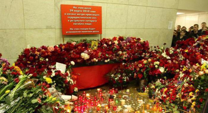 zamachy bombowe w metrze w historii Moskwy