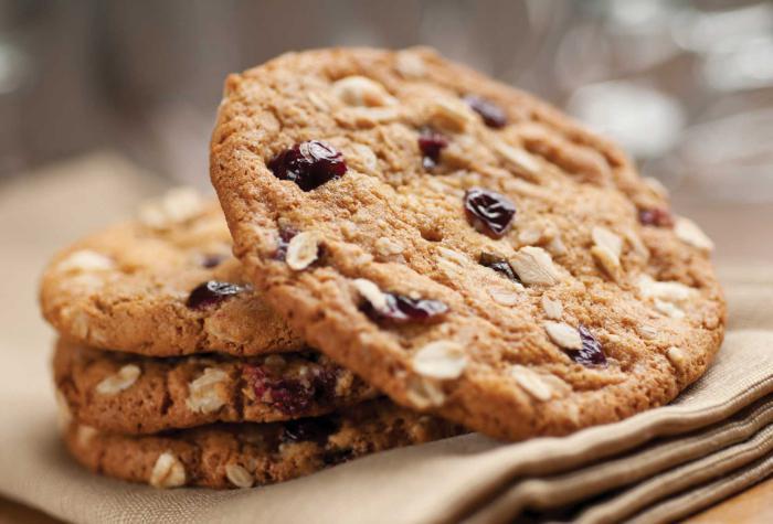 Ciasteczka owsiane kalorii
