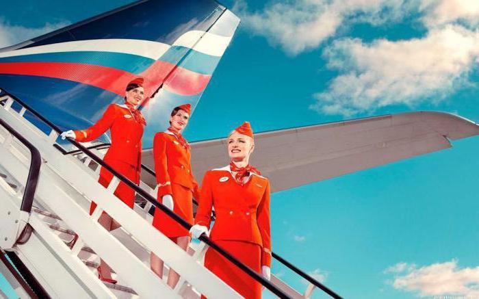 valutazione delle migliori compagnie aeree della Russia
