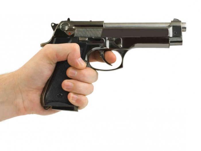 potente pistola ad aria compressa